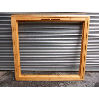 Softwood Timber Wooden Plain Casement Window 1495x1345mm AUC...